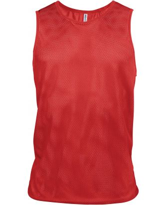Chasuble en filet léger multisports PA043 - Sporty Red