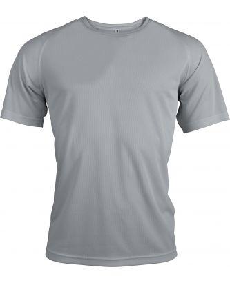 T-shirt homme manches courtes sport PA438 - Fine Grey