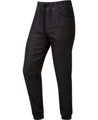 Pantalon de chef artisan PR556 - Black Denim