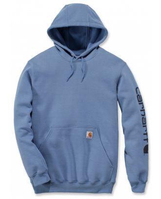 Sweat-shirt de travail à capuche CARK288 - Light Blue
