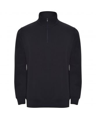 Sweat-shirt homme demi zip ANETO marine