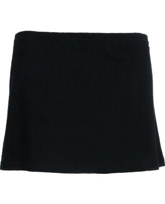 Jupe culotte avec ceinture élastique PATTY noir Recto