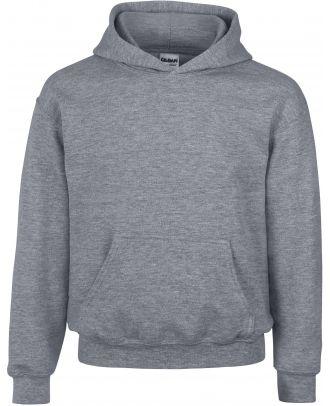 Sweat-shirt enfant à capuche Heavy Blend™ 18500B - Graphite Heather
