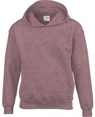 Sweat-shirt enfant à capuche Heavy Blend™ 18500B - Heather Sport Dark Maroon