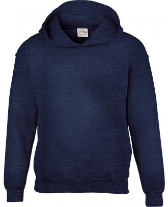 Sweat-shirt enfant à capuche Heavy Blend™ 18500B - Heather Sport Dark Navy