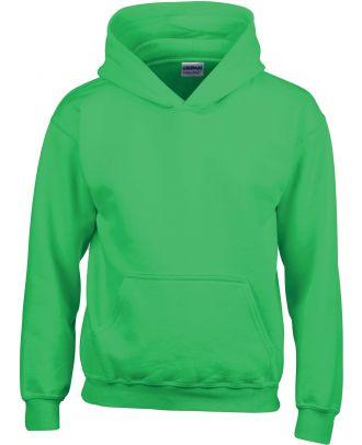 Sweat-shirt enfant à capuche Heavy Blend™ 18500B - Irish Green