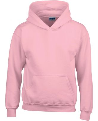 Sweat-shirt enfant à capuche Heavy Blend™ 18500B - Light Pink