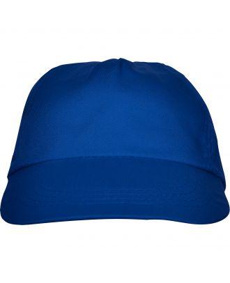 Casquette 5 panneaux BASICA bleu royal
