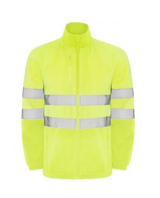 Veste polaire haute visibilité ALTAIR jaune fluo