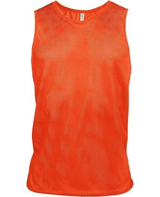 Chasuble en filet léger multisports PA043 - Spicy Orange