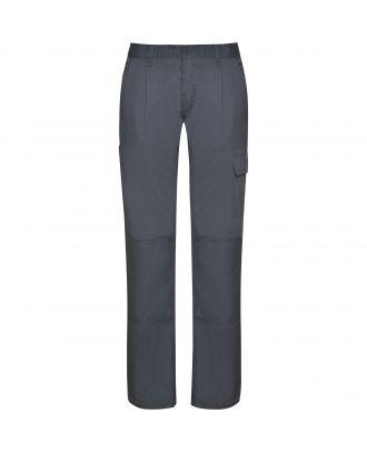 Pantalon de travail femme tissu résistant DAILY WOMAN plomb