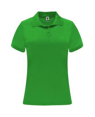 Polo manches courtes MONZHA WOMAN vert fougère
