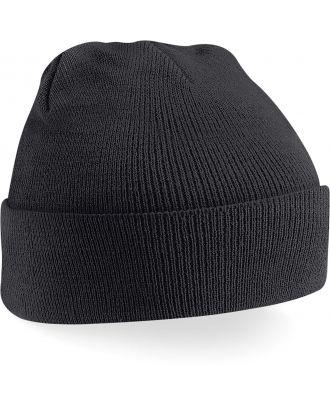 Bonnet original à revers B45 - Black-One Size