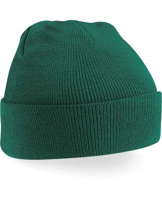 Bonnet original à revers B45 - Bottle Green-One Size