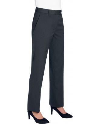 Pantalon femme Bianca 2277 - Charcoal Pin Dot
