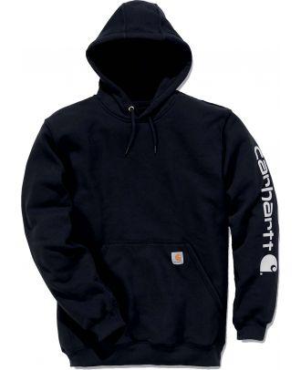 Sweat-shirt de travail à capuche CARK288 - Black