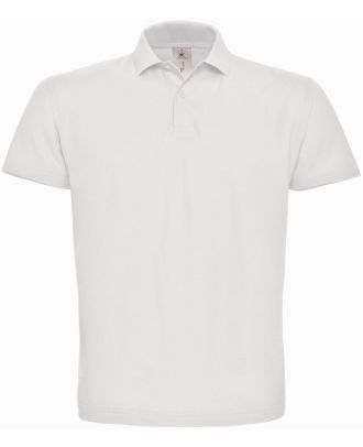 Polo homme manches courtes ID.001 PUI10 - White