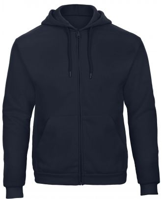 Sweatshirt capuche zippé ID.205 - Navy