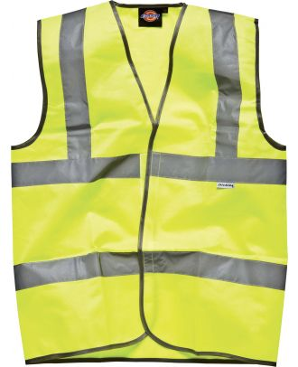 Gilet Haute Visibilité DSA22010 - Yellow