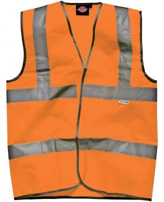 Gilet haute visibilité DSA30310 - Orange