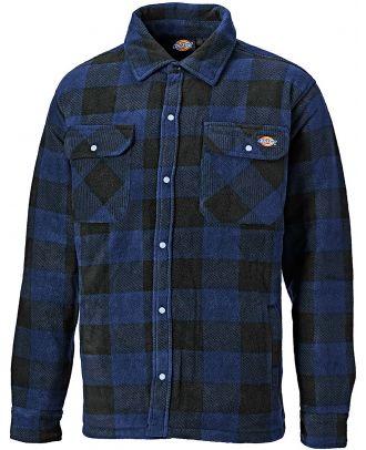 Chemise de travail Portland SH5000 - Royal Blue / Black