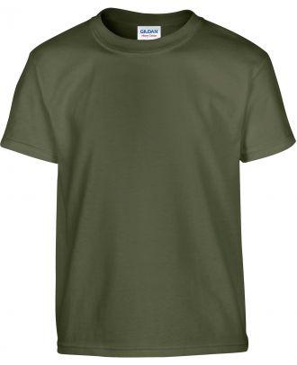 T-shirt enfant manches courtes heavy 5000B - Military Green