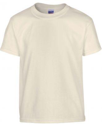 T-shirt enfant manches courtes heavy 5000B - Natural