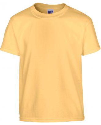 T-shirt enfant manches courtes heavy 5000B - Yellow Haze