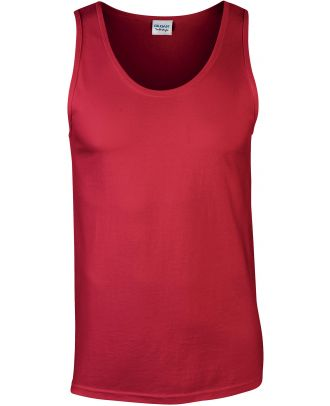 Débardeur homme softstyle GI64200 - Red