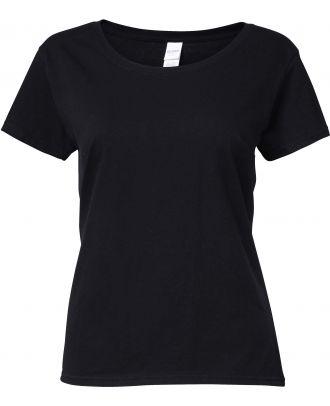 T-shirt femme Softstyle® Deep Scoop 64550L - Black