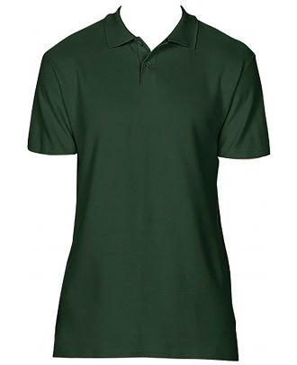 Polo homme Softstyle double piqué GI64800 - Forest Green
