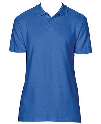Polo homme Softstyle double piqué GI64800 - Royal Blue