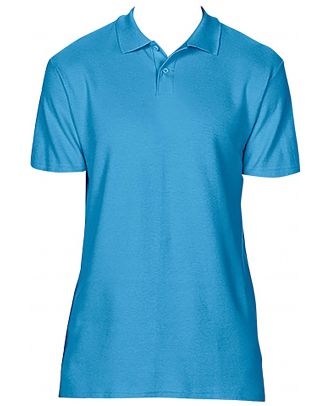 Polo homme Softstyle double piqué GI64800 - Sapphire