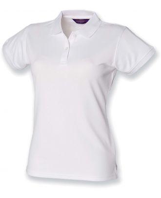 Polo femme Coolplus H476 - White