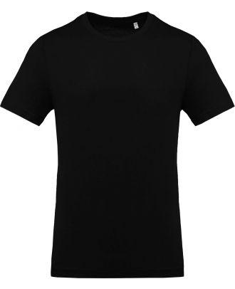 T-shirt homme col rond manches courtes K369 - Black