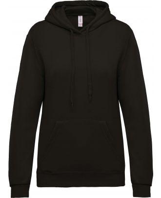 Sweat-shirt femme à capuche K473 - Dark Grey