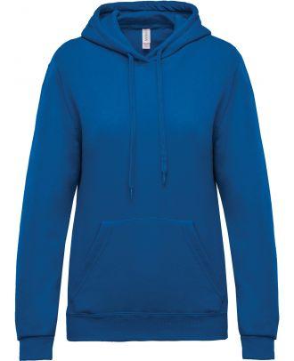 Sweat-shirt femme à capuche K473 - Light Royal Blue