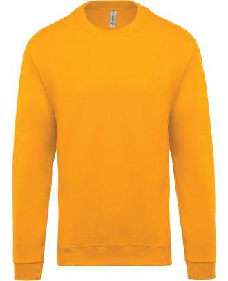 Sweat-shirt unisexe col rond K474 - Yellow
