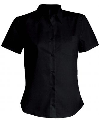 Chemise manches courtes femme Judith K548 - Black