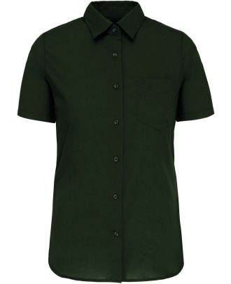 Chemise manches courtes femme Judith K548 - Forest Green