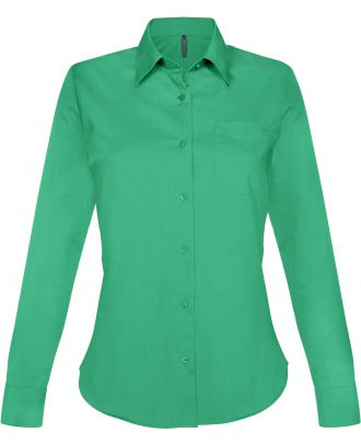 Chemise manches longues femme Jessica K549 - Kelly Green