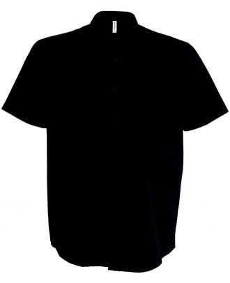 Chemise manches courtes Ace K551 - Black
