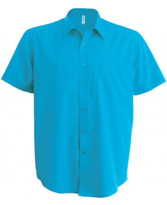 Chemise manches courtes Ace K551 - Bright Turquoise