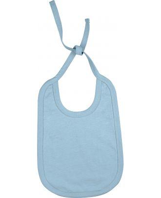 Bavoir bébé coton K832 - Sky Blue