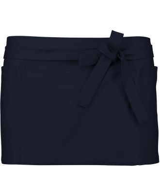 Tablier court de Barman K886 - Navy