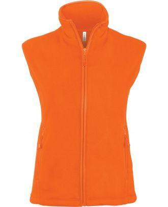Gilet femme micropolaire Mélodie K906 - Fluorescent Orange