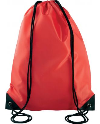 Sac à dos avec cordelettes KI0104 - Red - 44 x 34 cm