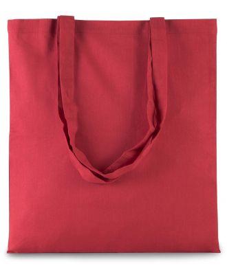 Sac tote bag shopping basic KI0223 - ARANDANO RED - 38 x 42 cm