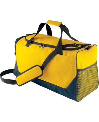 Sac de sport KI0617 - Navy / Yellow - 56 x 28 x 32 cm