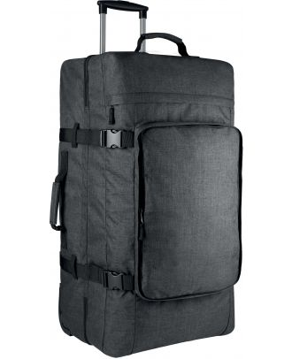 Grand sac trolley à double compartiment KI0820 - Dark Titanium